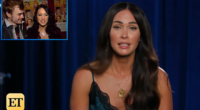 Watch Megan Fox React ...