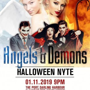 Featured Event Of The Week: Angels & Demons – Halloween Nyte