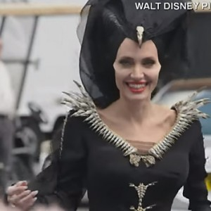 Watch Angelina Jolie Play Ping-Pong As The Sinister 'Maleficent'