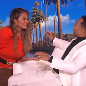 Watch Chrissy Teigen Scare The Living Daylight Out Of John Legend