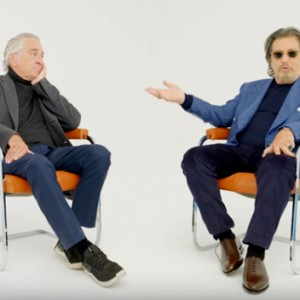 Watch Robert De Niro and Al Pacino Have an Epic Conversation About Their Careers