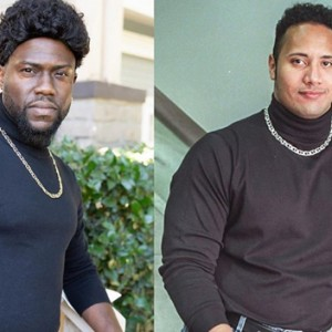 "Kevin Hart Nailed Halloween By Dressing Up As ""The Rock"""