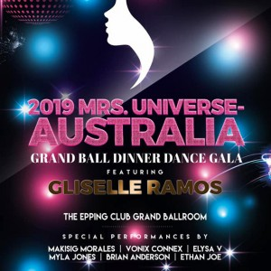 Featured Event Of The Week: 2019 Mrs Universe Australia Grand Ball Gala