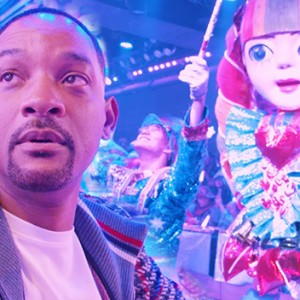 Will Smith Just Went To A Robot Restaurant. The Result Was Priceless!
