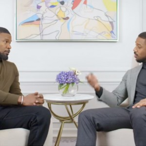 Here's An Inside Look At An Epic Conversation Between Michael B. Jordan And Jamie Foxx