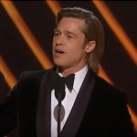 Watch Brad Pitt Give An Emotional Speech After Winning An Oscar For Best Supporting Actor