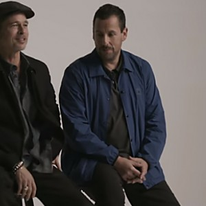 Brad Pitt & Adam Sandler Is The Most Unexpected Pairing EVER
