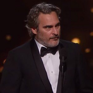 Joaquin Phoenix Just Responded To His Best Actor Oscar Win With An Emotional Speech