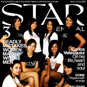 Issue #14 featuring The StarCentral Covergirls '09