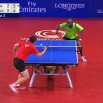Watch These Two Table Tennis Stars Exchange 41 Shots During The Most EPIC Ping Pong Rally Ever