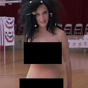 Katy Perry Just Got Naked And Arrested To Encourage Americans To Vote
