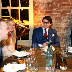 What Defines A Great Business – KOSEC's CEO, Michael Kodari Acknowledges Staff At Bar Machiavelli Restaurant