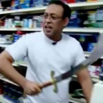This Thief Tried To Rob A Store With A Sword. The Shopkeeper Responded By Pulling Out A Huge Scimitar