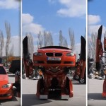 Watch This BMW 3 Series Transform Into A Real-life Transformer In A Matter Of Seconds