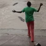 This Badass Lady Scared Off A Dangerous Crocodile Using Her Flip Flops (Yes, You Read Right)