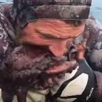 Watch This Badass New Zealander Kill An Octopus He Just Caught By Biting It Between The Eye