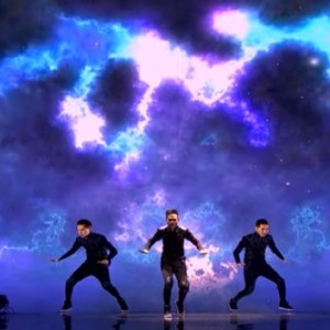 This Dance Choreography Synched With Animation In Mongolia's Got Talent Is Guaranteed To Give You Goosebumps