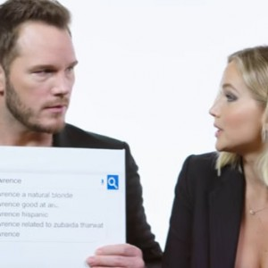 This is What Happens When Jennifer Lawrence And Chris Pratt Decides To Answer The Web's Most Searched Questions