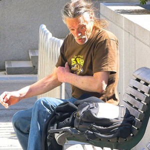 This Homeless Man Saw A Random Man In Trouble. What He Did Next Will Leave You Speechless