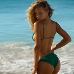 This Video Of Hannah Ferguson Wearing The World's Smallest Bikini Is Guaranteed To Leave You Breathless