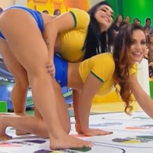 These Two Gorgeous Brazilian Girls Playing Twister Has Been Taking The Internet By Storm