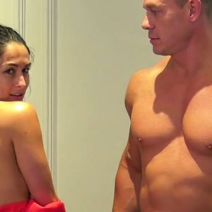 John Cena And Fiancé Nikki Bella Just Stripped Down To Celebrate 500K Subscribers