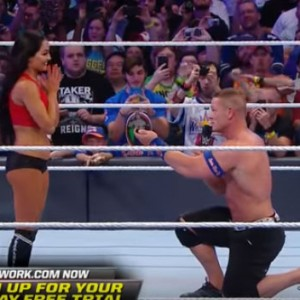 John Cena Just Proposed To His Girlfriend At WrestleMania 33