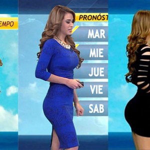 Ozzy Man Decided To Review Sexy Yanet Garcia's Weather Report. The Result Was Pure Gold
