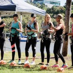 The Miss Multiverse Australia Contestants Just Competed In An Australian Abseil As Part Of A Challenge