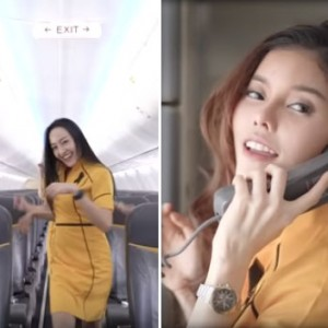 """The Air Crew Of A Thai Airline Decided To Do A Sexy Cover Of Britney Spears' """"Toxic"""" To Welcome Her To Bangkok"""