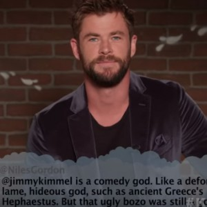 Watch Chris Hemsworth, Liam Neeson And Jennifer Lawrence Hilariously Read Mean Tweets About Themselves