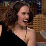 """Daisy Ridley's """"Star Wars Whisper Challenge"""" with Jimmy Fallon Is Guaranteed To Make You Smile"""