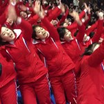 Watch North Korea's 'Army Of Beauties' Seduce South Korean Fans At The Olympics