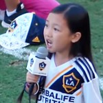This 7-Year-Old Girl Just Became Viral For Performing The National Anthem At The MLS Game