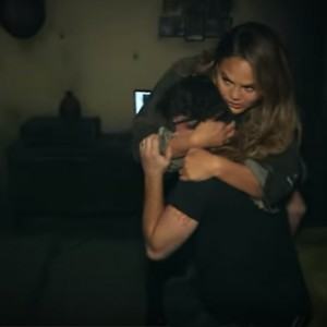 Chrissy Teigen & Average Andy Just Went Through A Haunted House For Halloween