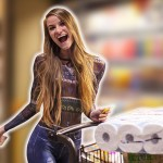 This Woman Actually Shopped For Groceries Naked And No One Noticed (Yes, You Read Right)