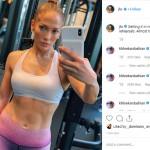 Jennifer Lopez' Insane Gym Selfie Is Taking The Internet By Storm
