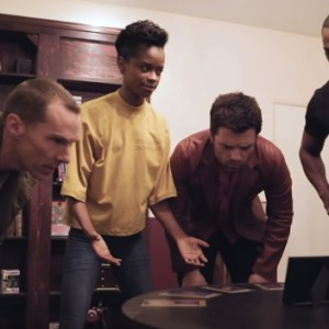 These 4 Marvel Stars Tried To Escape An  Escape Room. Moments Later… OMG