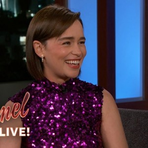 Watch Emilia Clarke Talk About The Epic Game of Thrones Battle, Kit Harington & Riding Dragons