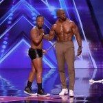 Simon Cowell Stormed Off After Terry Crews Joined A Flute Stripper On Stage