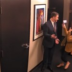 Watch Jimmy Kimmel Hilariously Prank His Staff with His Wax Figure