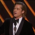 Watch Brad Pitt Give An Emotional Speech After Winning An Oscar For Best Supporting Actor