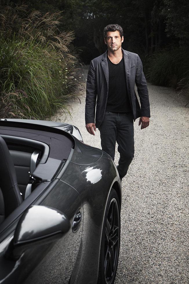 Actor Patrick Dempsey