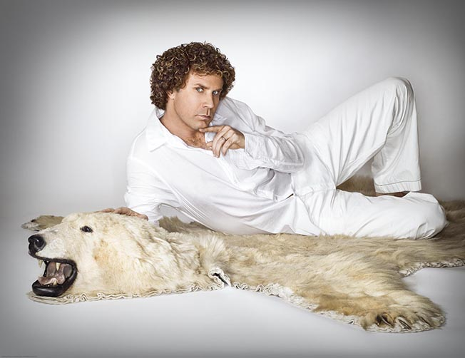 Will Ferrell by entertainment and celebrity photographer Michael Grecco
