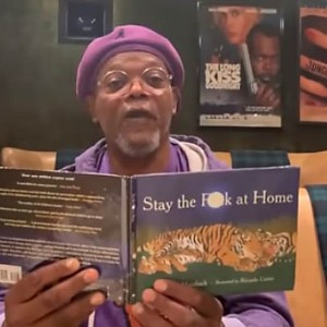 "Samuel L. Jackson Has A No-Nonsense Message To Stop The Spread Of COVID-19: ""Stay The F*** Home!"""