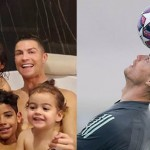 Cristiano Ronaldo Receives Nasty Comments After Posting A Family Bathtub Pic On Instagram